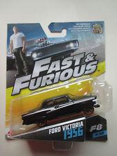 """FAST & FURIOUS MATTEL-FURIOUS 8 """"FORD VICTORIA 1956"""" F8 # 4/32 NEW! HTF"""