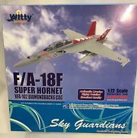 Witty Wings wtw72-008-008, F/A -18F Super Hornet, VFA-102 Diamondbacks CAG, 1:72