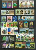 MNZ86) New Zealand 1980-83 Stamp Sets, Minisheets MUH