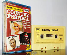 COUNTRY FESTIVAL Country Superstars 4 12 Titel Tape MC tape Kassette cassette