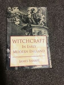 Seminar Studies: Witchcraft in early modern England by James Sharpe (Paperback /