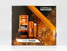 L'Oreal Men Turbo Power Expert - 3 Piece Gift set for him - UK