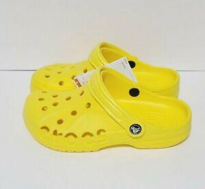 Crocs Baya 10126-7C1 Size Mens 7 Womens 9 Yellow