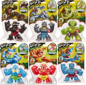 Heroes of Goo Jit Zu Dino Power Tritops, Shredz, Thrash, Blazagon, Tyro, Verapz