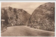 Malvern; The Wyche Cutting PPC By Tilley, Unposted, c 1920's