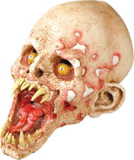 Morris Costumes Horror Halloween Schell Shocked Mask. TA345