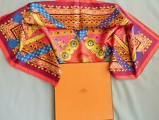 Hermes Scarf Brins D'or Julie Abadie Silk Twill 90cm Box Mint Carres