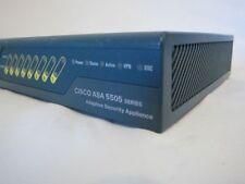 Cisco ASA5505-K8 V08 Adaptive Security Appliance (No Power Cable)