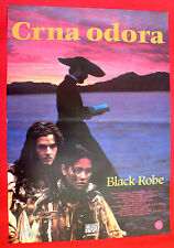BLACK ROBE 1991 LOTHAIRE BLUTEAU ADEN YOUNG SANDRINE HOLT RARE EXYU MOVIE POSTER
