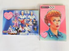 2 Factory Sealed 1997 I Love Lucy 500 piece Jigsaw Puzzles
