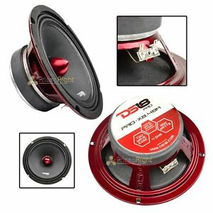 "DS18 PRO-X8.4BM 8"" Midrange Speaker 800 Watt Max 4 ohm Mid Loudspeaker Car Audio"