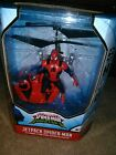 Marvel JetPack Spiderman Flying Figure Infrared Helicopter * Brand New in Box!