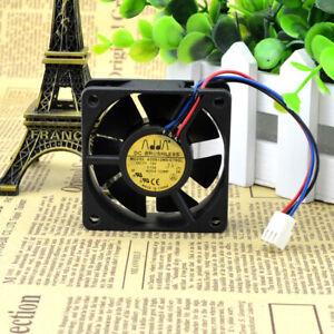 ADDA 6020 6CM 12V 0.13A AD0612MS-C76GL 3-pin ultra-quiet fan