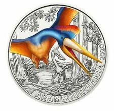 AUSTRIA 3 EUROS 2020 HGH - ARAMBOURGIANA PHILADELPHIAE - SUPERSAURIOS - PREVENTA