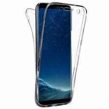 Funda Gel Silicona Doble 360 360º Transparente Para Samsung Galaxy Note 4 N910