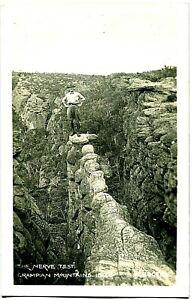 The Nerve Test, Grampian Mountains - Postcard