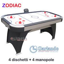 GARLANDO - Air Hockey Tavolo ZODIAC - 4 dischetti + 4 Manopole GARANZIA 24MESI
