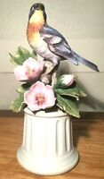 Vintage Porcelain Bird Figurine, Parula Warbler by Andrea by Sadek, Japan