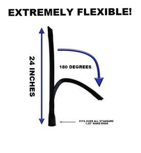 Flexible Crevice Tool Attachment fits Shop Vac Vacuum