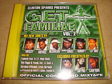CLINTON SPARKS - Get Familiar Vol. 2  (MISSY BUSTA RHYMES REDMAN KURUPT EMINEM)