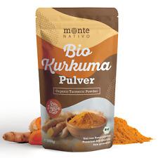 Bio Kurkuma Pulver MonteNativo 1000g (1kg); Kurkumapulver; Curcuma Gemahlen