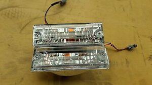 Isuzu TFR Rodeo TF Pickup 97-01 Front Bumper Light Crystal Pair