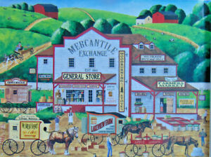 PUZZLE.....JIGSAW....POULIN...Morning Deliveries...300 Pc...Sealed