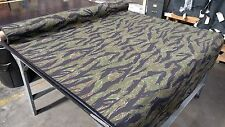 "Woodlands Vintage Tiger Stripe Ripstop 6.25 oz Fabric 65""W Fabric Camouflage"