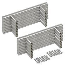 20 Maniglie per Mobili in acciaio inox Armadio Porta Cassetti Cucina  Bagno