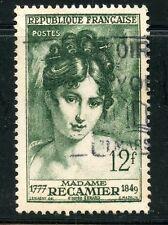 STAMP / TIMBRE FRANCE OBLITERE N° 875 MADAME RECAMIER