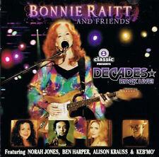 Decades Rock Live: Bonnie Raitt and Friends CD