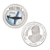 WR North American Aviation P-51 Mustang Fighter Coin World War II 2 Collectibles