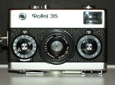 ROLLEI 35 CHROME 40mm 2.8 TESSAR with STRAP and CASE