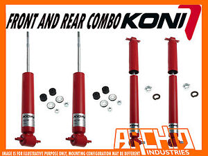 BUICK ELECTRA WAGON 1985-1990 KONI ADJUSTABLE FRONT & REAR SHOCK ABSORBERS