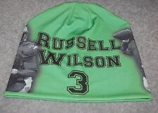 ADULTS SEATTLE SEAHAWKS RUSSELL WILSON NFL FOOTBALL PLAYER BEANIE CAPS HAT