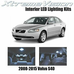XtremeVision LED for Volvo S40 2008-2015 (8 Pieces) Cool White Premium Interior