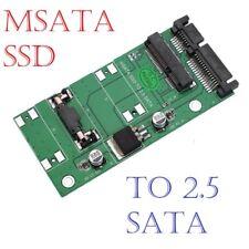 MSATA SSD to 2.5'' SATA III 3 Adapter Converter Card Module Board Multiple Size