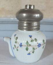 canard biberon de malade porcelaine décor barbeaux système l'hermétique