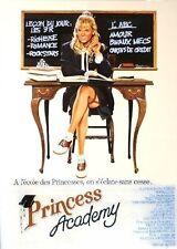 "Affiche 120 x 160 du film ""PRINCESS ACADEMY"" de Bruce Block avec Eva Gabor ."