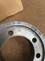 "2-3V 3.35 SH PULLEY/SHEAVE , 2 GROOVE 1-13/16"" BORE, 3-4/32"" OD"