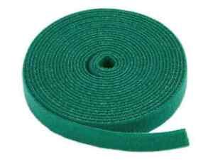 Hook & Loop Fastening Tape, 3/4-inch Wide, 5 yards/Roll - Green