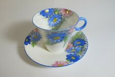 VINTAGE SHELLEY BONE CHINA DAISY CUP & SAUCER DEMI-TASSE Reg. No. 781613