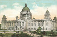 Rare Vintage Scenic Postcard - City Hall, Belfast - Antrim, Northern Ireland