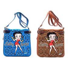Betty Boop Handbag, Blue, Tan