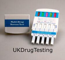 DRUG TESTING KIT 1 x 5  DRUG TEST COCAINE CANNABIS SPEED METH OPIATES