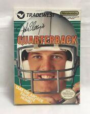 John Elway's Quarterback NES 1989 complete in box