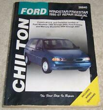 Ford Windstar / Freestar & Mercury Monerey, 2004-2007 Chilton pb repair guide