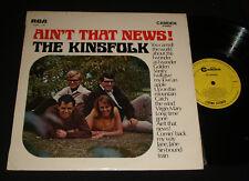KINSFOLK AUSSIE 1960s FOLK LP – AIN'T THAT NEWS Bob Dylan Donovan
