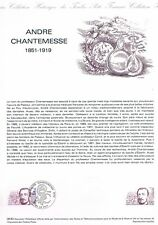 Document Officiel   1982 38   Andre Chantemesse  Yv N° 2230