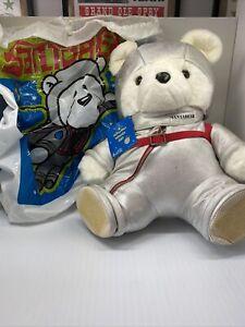 RARE 2001 Santa Bear with Collector Bag